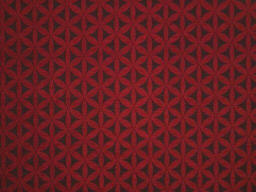 geometric fabric roman blinds Tapa Pinot main