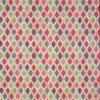 geometric fabric roman blinds Verve Berry main