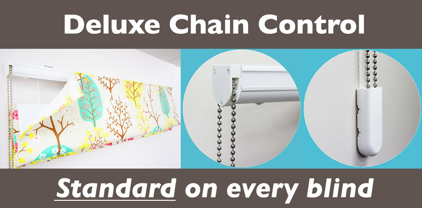 Deluxe Chain Controlled Roman Blinds Nz Affordable