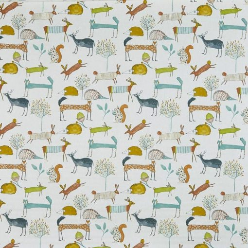 children fabric roman blinds mayhem marmalade 1 main