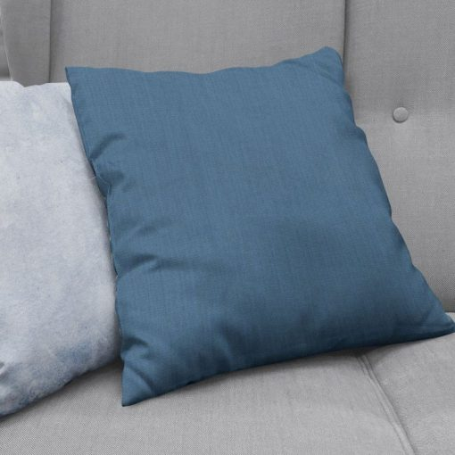 Bonny Navy Plain Fabric Cushion Covers
