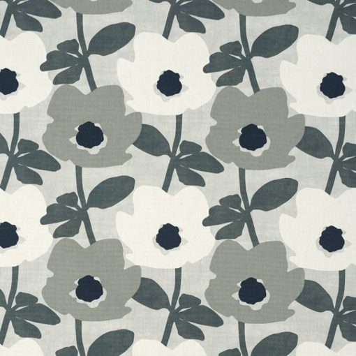 floral fabric roman blinds charlbury pebble 1 main