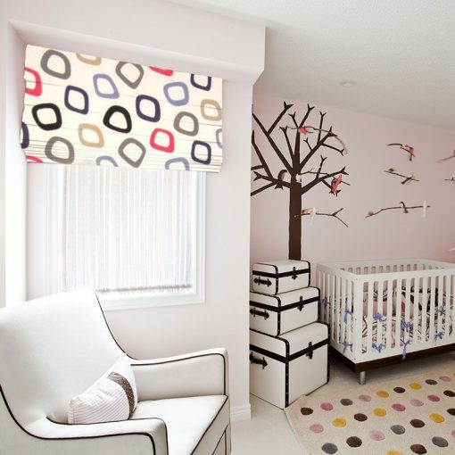 Tuba Admiral Kids Fabric Roman Blinds