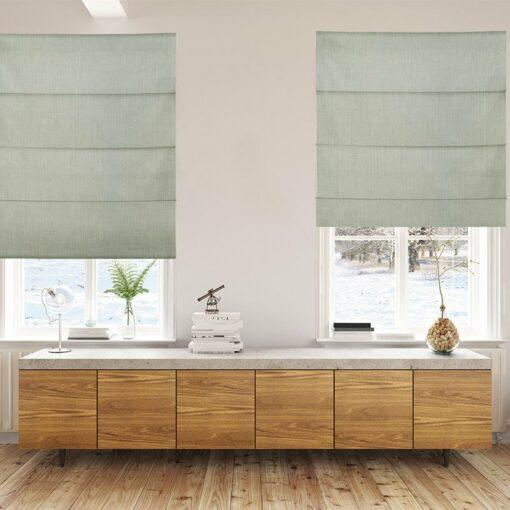 Bonny Lunar Plain Fabric Custom Made Blinds