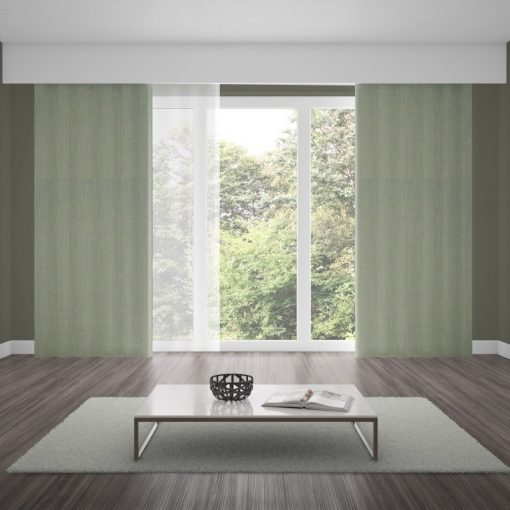 Bonny Lunar Plain Fabric Curtains Online