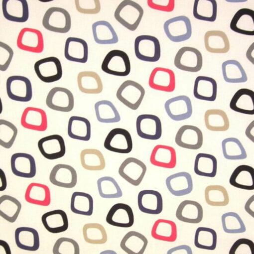 Tuba Admiral Geometric Fabric