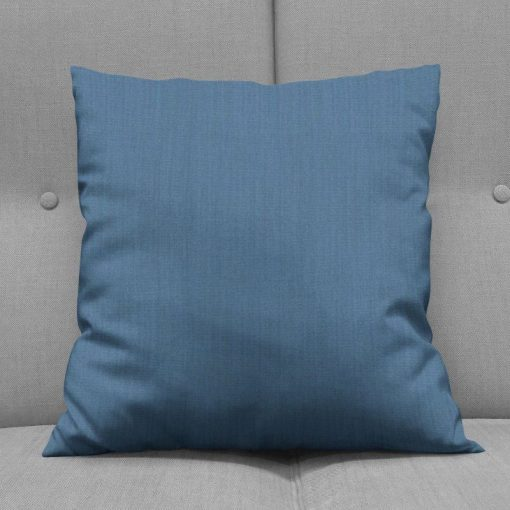 Bonny Navy Plain Fabric Cushions Online