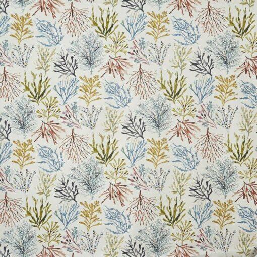 children fabric roman blinds coral tropical main