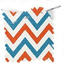 children fabric roman blinds isosceles tangerine thumbnail