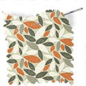 floral fabric roman blinds leafield mango thumbnail