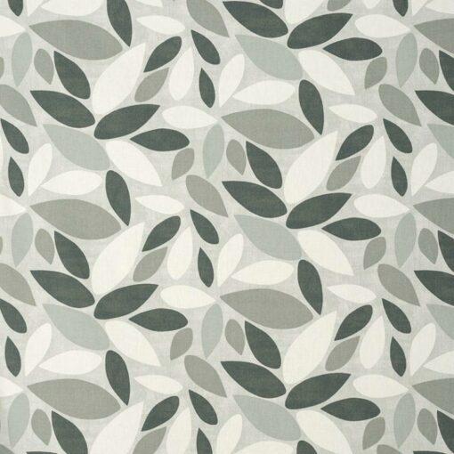 floral fabric roman blinds leafield pebble main