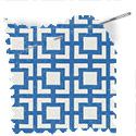 geometric fabric roman blinds mykonos azure thumbnail