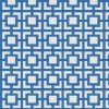 geometric fabric roman blinds mykonos azure zoom