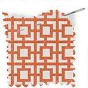 geometric fabric roman blinds mykonos coral thumbnail