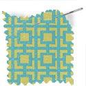 geometric fabric roman blinds mykonos melon thumbnail