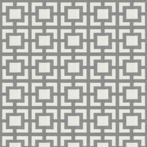 geometric fabric roman blinds mykonos tide zoom