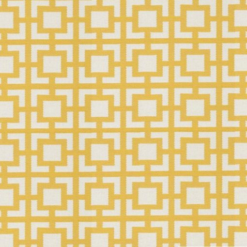 geometric fabric roman blinds mykonos zest zoom