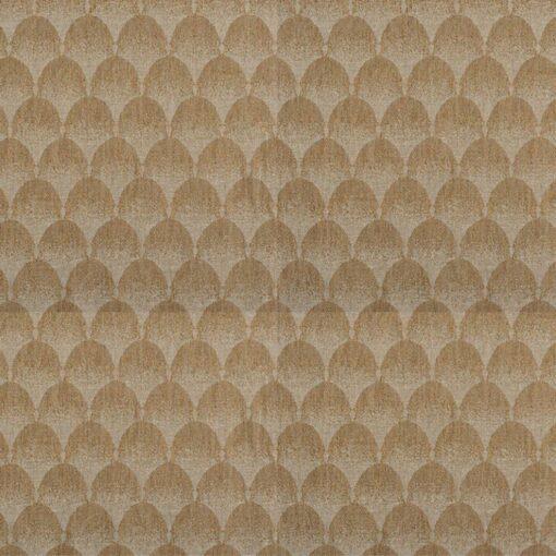 geometric fabric roman blinds palais copper zoom