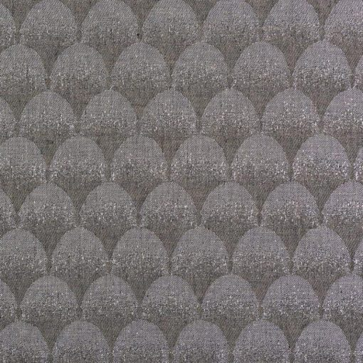 geometric fabric roman blinds palais pewter main