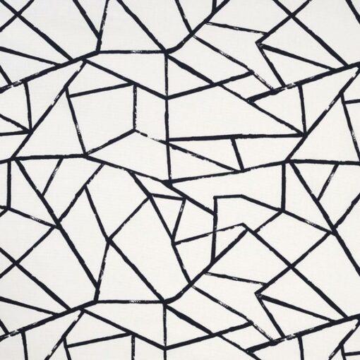 geometric fabric roman blinds polygon jet main