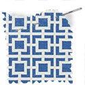geometric fabric roman blinds reversed mykonos azure thumbnail