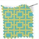 geometric fabric roman blinds reversed mykonos melon thumbnail