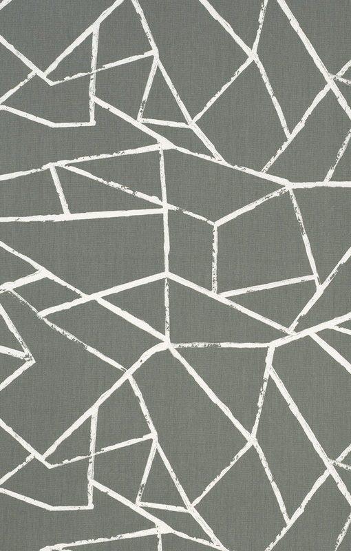 Polygon Grey Roman Blinds Direct