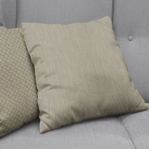 Bonny Ash Plain Fabric Cushion Covers