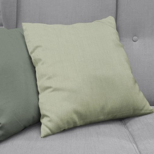 Bonny Celadon Plain Fabric Cushion Covers