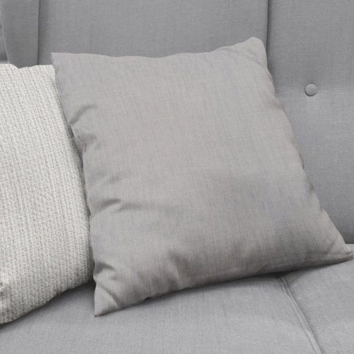 Bonny Cement Plain Fabric Cushion Covers