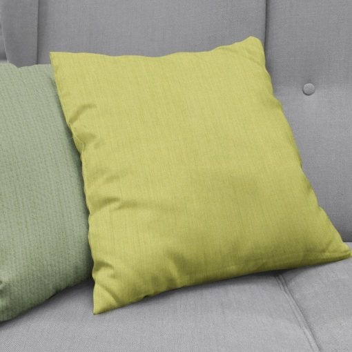 Bonny Endive Plain Fabric Cushion Covers
