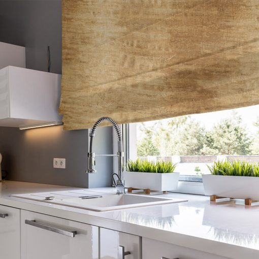 Erosion Oxide Nature Inspired Design Quality Roman Blinds NZ