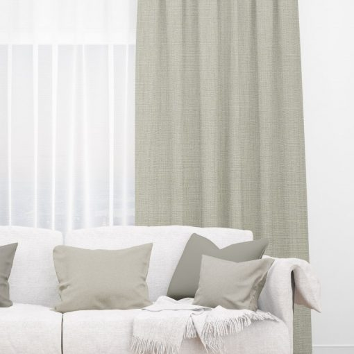 Bonny Dove Plain Fabric Thermal Curtains NZ
