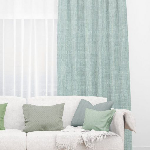 Bonny Nile Plain Fabric Thermal Curtains NZ