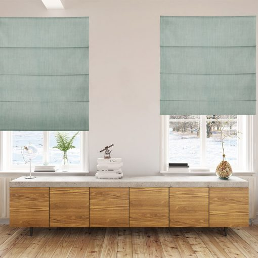 Bonny Lichen Plain Fabric Custom Made Blinds