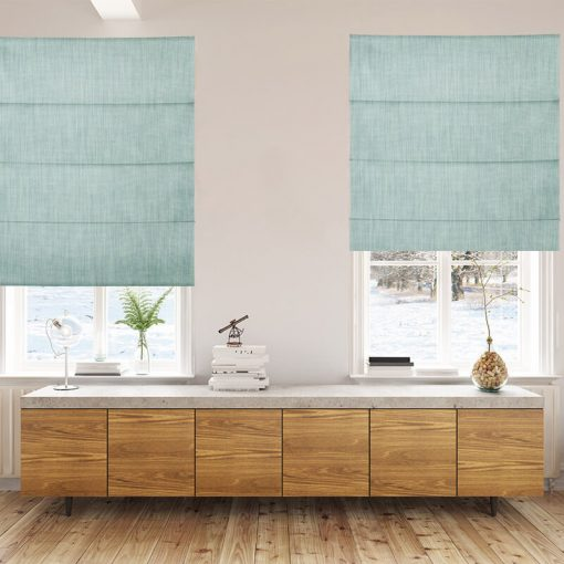 Bonny Nile Plain Fabric Custom Made Blinds