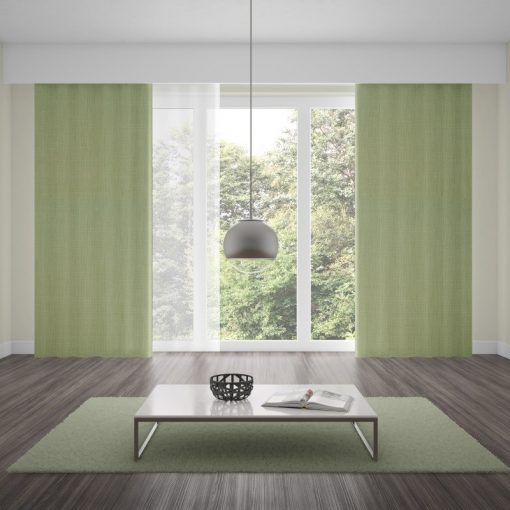 Bonny Celadon Plain Fabric Curtains Online
