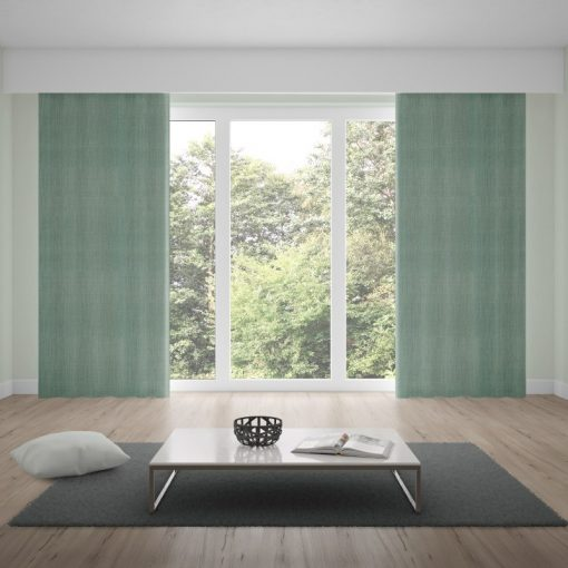 Bonny Lichen Plain Fabric Curtains Online