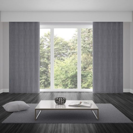 Bonny Metal Plain Fabric Curtains Online