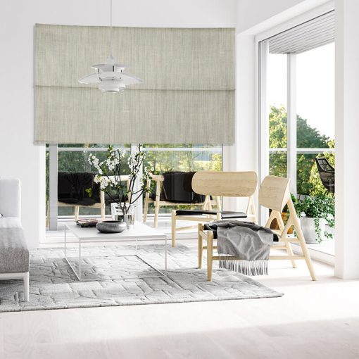 Bonny Micro Plain Fabric Roman Blinds