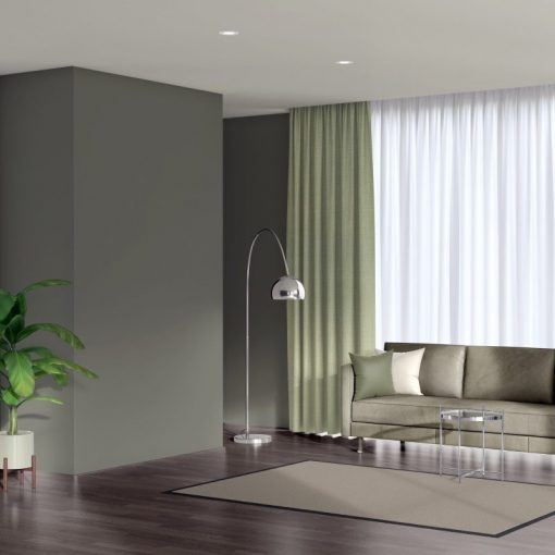 Bonny Celadon Plain Fabric Curtains for Sale