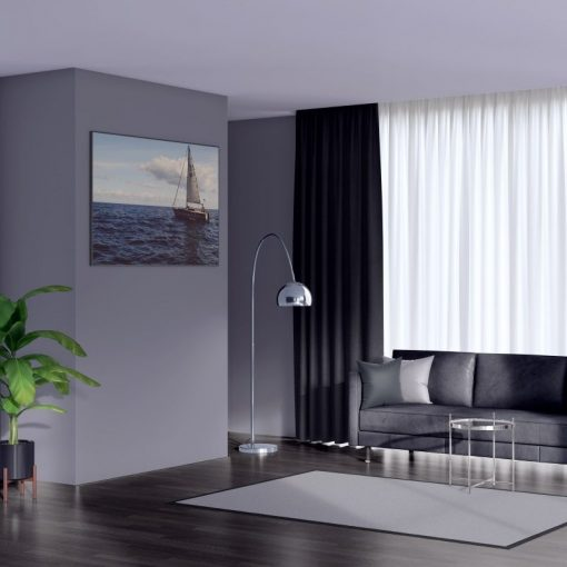 Bonny Onyx Plain Fabric Curtains for Sale