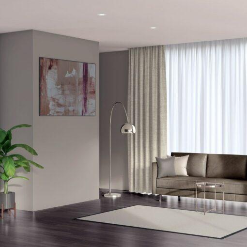 Envoy 2 Angora Linen Look Thermal Curtains