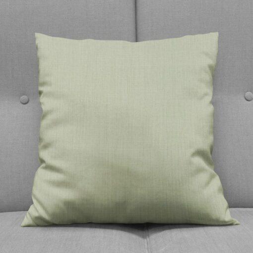 Bonny Celadon Plain Fabric Cushions Online