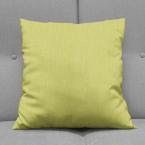 Bonny Endive Plain Fabric Cushions Online