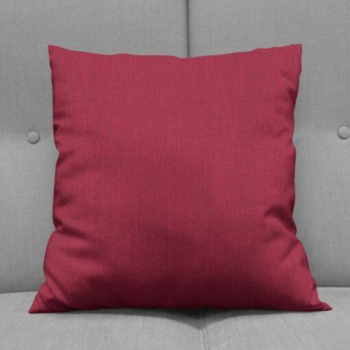 Bonny Merlot Plain Fabric Cushions Online