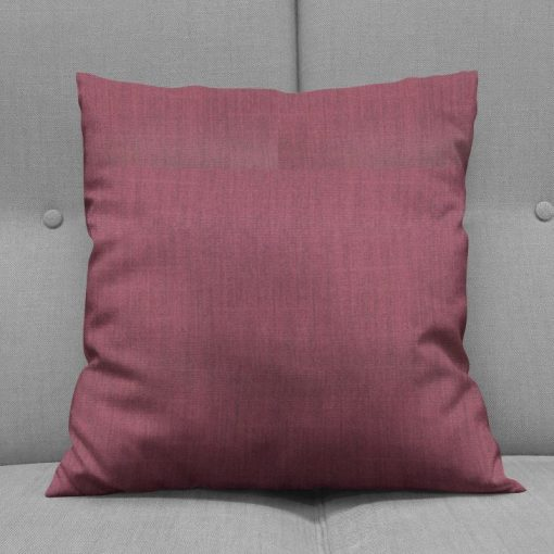 Bonny Plum Plain Fabric Cushions Online