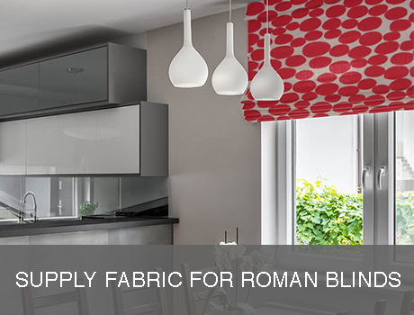 Supply Your Own Fabric Roman Blinds Direct