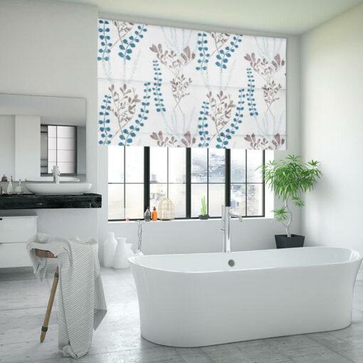 bathroom roman blinds potpourri opal