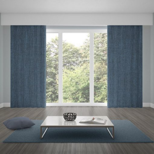 blackout curtains matrix bluesteel